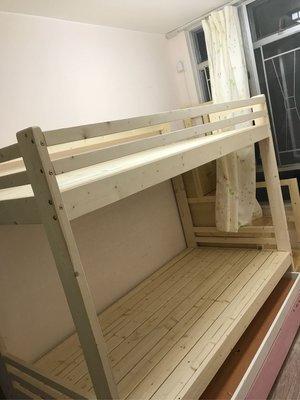 零甲醛🆕上下木床🆕任何尺寸製造❤梯櫃❤拖床組合❤實木製造❤包安裝包送貨❤