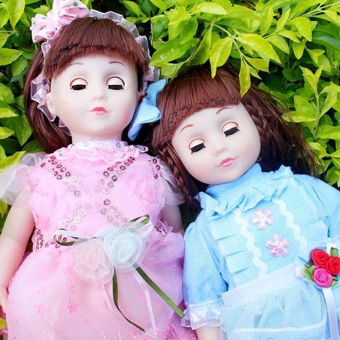 會說話的娃娃智能娃娃會對話芭比洋娃娃兒童女孩玩具巴比仿真布娃
