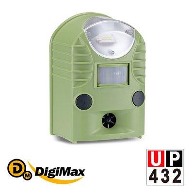 【原廠直送】DigiMax   UP-432 『地震魚』多功能地震警報器