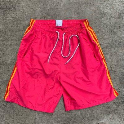【inSAne】韓國購入 / 雙線 / 網眼 / 亮色 / 運動褲 / 單一尺寸 / 黃色 & 紅色 & 蘋果綠