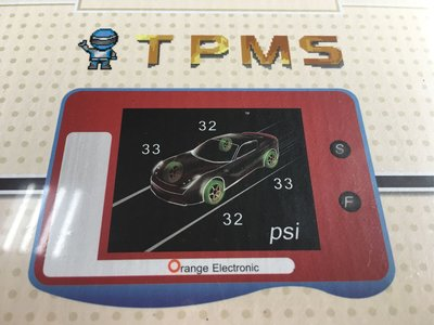 胎壓偵測器 ORANGE P451 紅白機 胎壓 胎溫監控