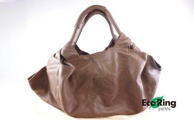 [Eco Ring HK]*Loewe Brown Lambskin Shoulder Bag*RankAB -197018035-