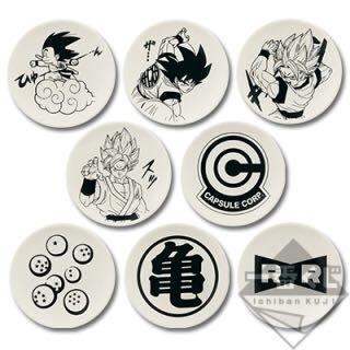 一番賞 龍珠 悟空dragonball 全8種 小皿 約 10cm 日版 售圖1