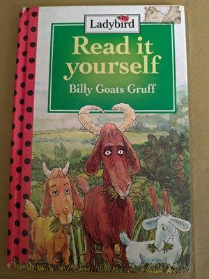 **菲比小舖** 英文原版  Ladybird Read it yourself  Billy Goats Gruff