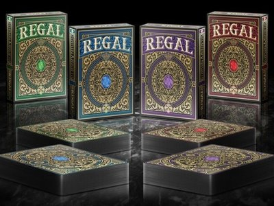 【USPCC撲克】Regal playing cards
