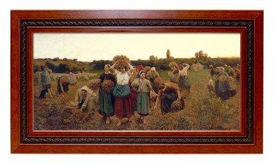 基督教禮品 幸福小組禮物  經文畫框-拾穗者之歸