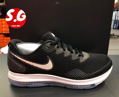 S.G NIKE W ZOOM ALL OUT LOW 2 黑白 運動休閒 全氣墊 慢跑鞋 女鞋 AJ0036-003