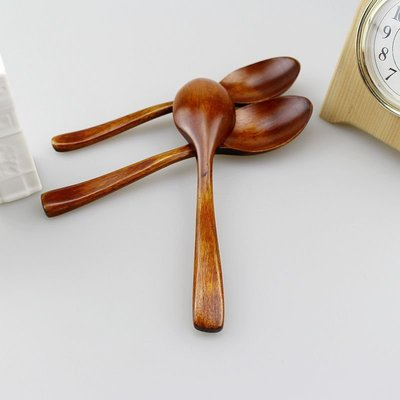 原木湯匙 野餐湯匙 湯匙