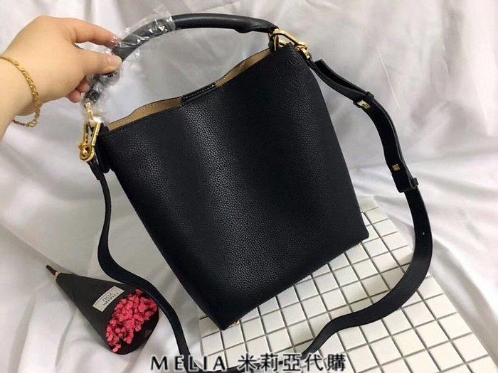 Melia 米莉亞代購 專售正品 2018ss 羅意威 LOEWE 購物包 斜背包 水桶包 單肩包 黑色
