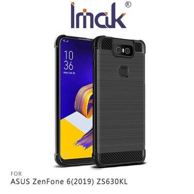 *Phone寶*Imak ASUS ZenFone 6(2019) ZS630KL 碳纖維紋套 四角氣囊 TPU套 保護