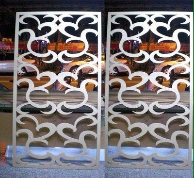 *Butterfly*木板切割,密集板鏤空切割*屏風*窗花*櫥窗門片*專幫設計公司及同行代工B03