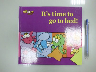 書皇8952:童書 A5-3bc☆2006年初版『Basic Book:It's time to go to bed!』