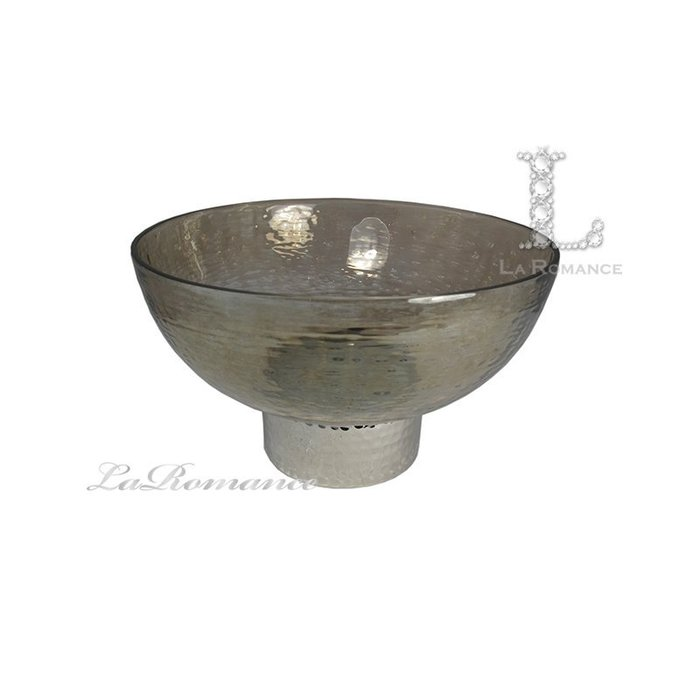 【芮洛蔓 La Romance】威尼斯系列茶色玻璃碗 (大) / 置物 / 果盤 / 餐桌
