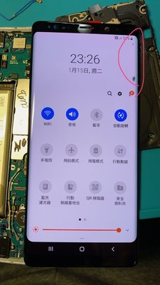 『皇家昌庫』Samsung Galaxy Note9 N9 液晶總成 面板 LCD 連工帶料 4000元 帶點 瑕疵