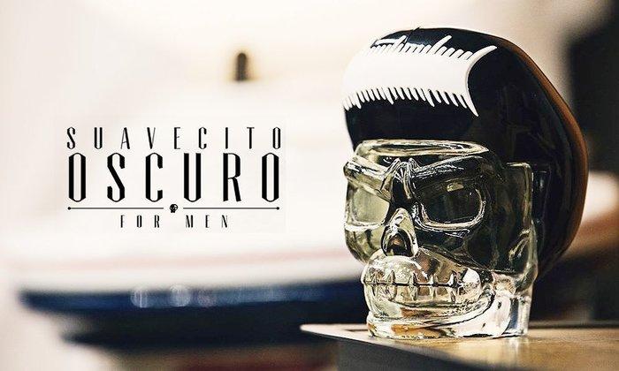 GOODFORIT / 加州造型品牌Suavecito Oscuro Cologne麝香底韻夜神古龍水/100ml