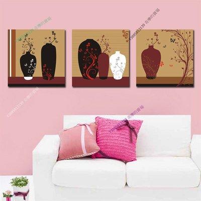 【70*70cm】【厚1.2cm】藝術抽象花瓶-無框畫裝飾畫版畫客廳簡約家居餐廳臥室【280101_260】(1套價格)