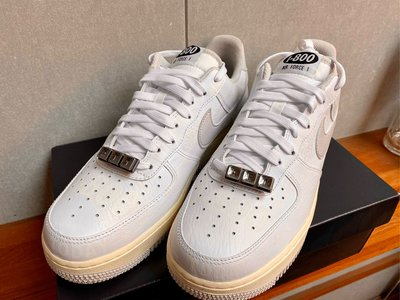 全新正品 NIKE AIR FORCE 1 07 PRM TOLL FREE 3M 1800 奶油 全白 塗鴉 反光 CJ1631-100