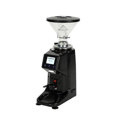 意式電控定量磨豆機專業商用咖啡館電動磨粉機家用研磨機可選110V【5月20日發完】#新一的家#