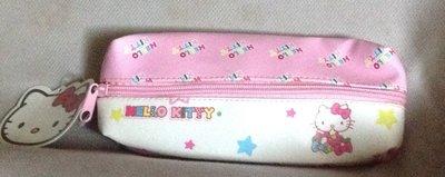全新韓國帶回雙層拉鍊Hello kitty筆袋