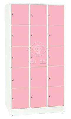 【TC95-14】塑鋼十五格保管櫃(不...
