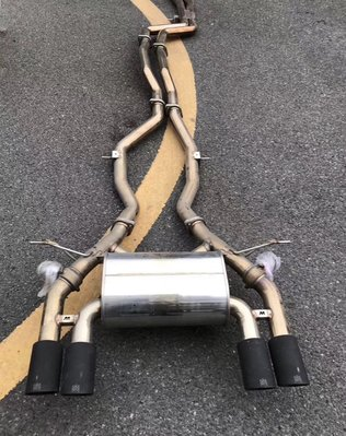【YGAUTO】二手時間 BMW 寶馬 F8X M3 M4 升級 Armytrix 二手中尾段排氣管
