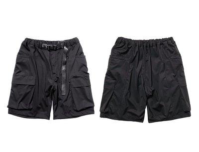 ∵ PRAY FOR FASHION ∴城市機能工裝雙側立體多口袋運動休閒短褲