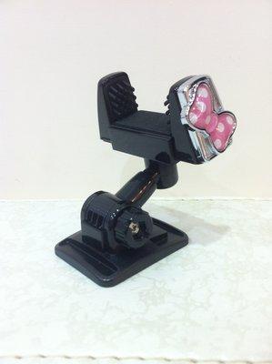 《東京家族》米妮 粉紅蝴蝶結 車用手機架