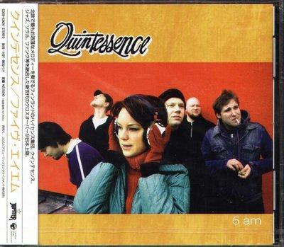 K - Quintessence - 5 Am - 日版 CD+2BONUS - NEW