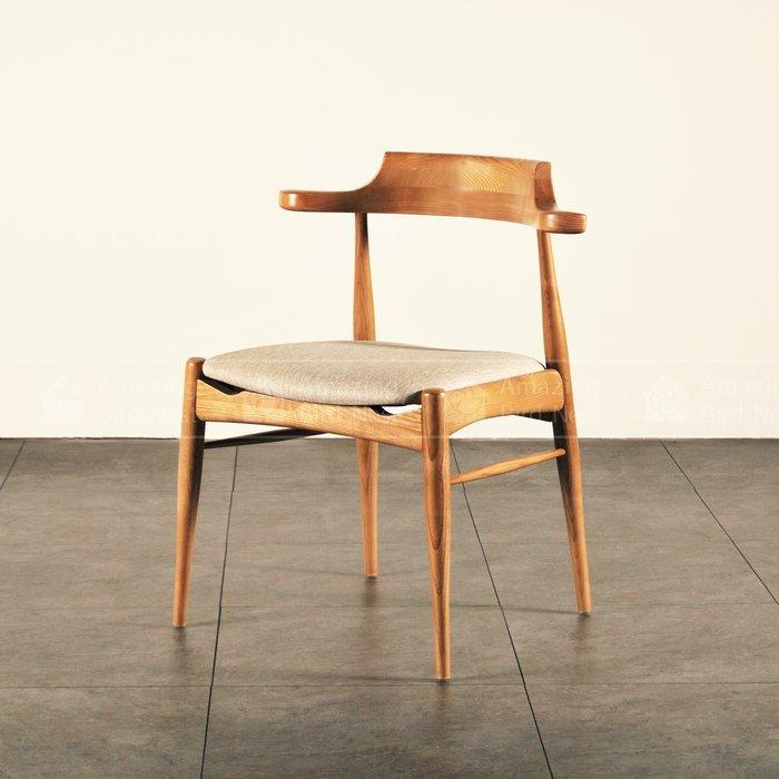北歐實木餐椅