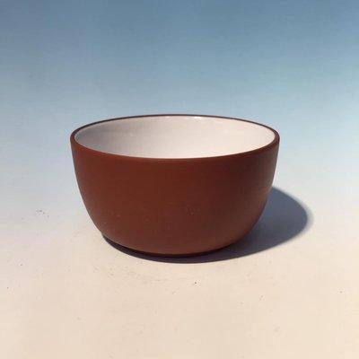 鶯歌陶瓷老街37號弘祥茗壺 中國宜興🌹內白紅泥  圓滿杯  容量:約60cc 尺寸:直徑6cm