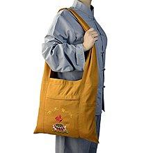 佛教用品香包居士海青包和尚包尼姑男女肩背包斜背包包羅漢袋朝山香袋[全館免運]
