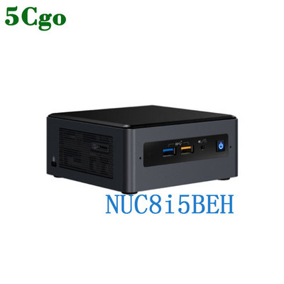 5Cgo【含稅】intel NUC8i5BEH 8代智能酷睿i5處理器家用辦公4K視頻網課NUC迷你電腦主機 台北市