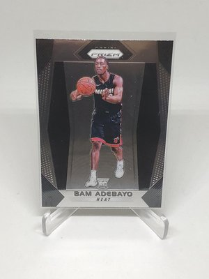 17-18 Prizm #51 Bam Adebayo Base RC Rookie Miami Heat