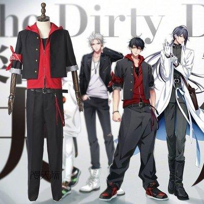 聲優rap企劃 cos the新 dirty da新wg山田一郎cosplay服裝