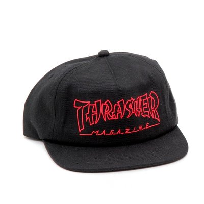 [JIMI 2] Thrasher - China Banks Snapback 美國滑板雜誌權威