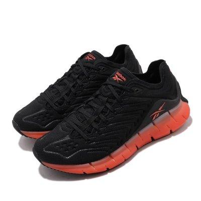 =CodE= REEBOK ZIG KINETICA 鋼印網布慢跑鞋(黑橘紅) EH1724 魚骨 MCGREGOR 男