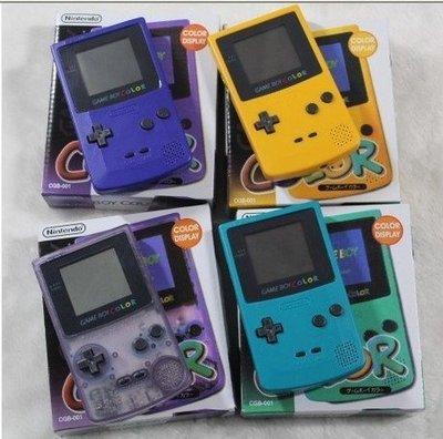 裝換殼任天堂 GAMEBOY GBC 彩色遊戲機 掌機