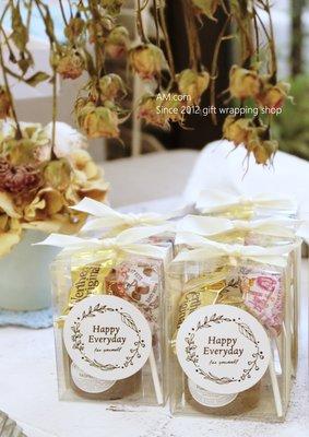 AM好時光【B27】TIPTREE 小蜂蜜+糖果+透明緞帶禮盒❤婚禮小物 宴會抽獎謝禮 送客伴手禮 喜糖喝茶禮 姊妹回禮