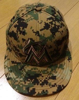 馬林魚隊陳偉殷實戰球帽-大聯盟認證-可以交換實戰球衣