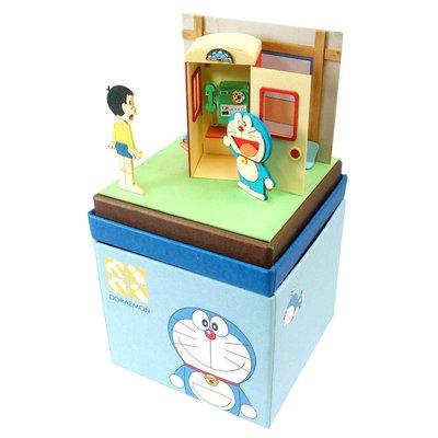 日本正版 Sankei 哆啦A夢 mini 紙模型 需自行組裝 MP08-07 日本代購