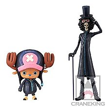 全新未開 日版 眼鏡廠 banpresto one piece 海賊王 dxf grandline gold film 布魯克 chopper 索柏 共2款