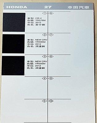 艾仕得(杜邦)Cromax 原廠配方點漆筆.補漆筆 HONDA CRV