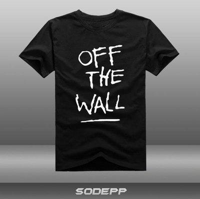 【SODEPP】克杰克OFF THE WALL狂短袖T恤衫全棉夏
