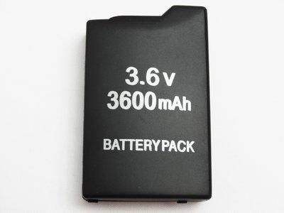 PSP 1000 型 電池 副廠 3600毫安 3600mAh 適用 1000 1007 型