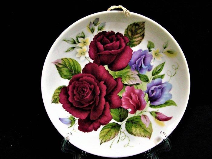 ➷➷大降➷ 120一元起標·.德國七大名瓷之一.· KAISER GERMANY【超經典一級品 花卉盤】a50b玩古金銀