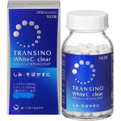 現貨 曰本Transino White C Clear 美白 240錠 日本第一三共