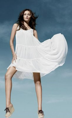 Meico Fashion 美可時尚 H&M Conscious系列 寶石裝飾純真夢幻洋裝 (兩色 現貨) Final Sale~