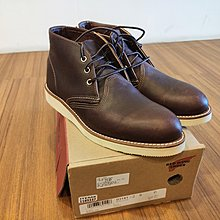 好市多 Red Wing 男皮靴 Red Wing Mens Chukka Briar Oil Slick Boot
