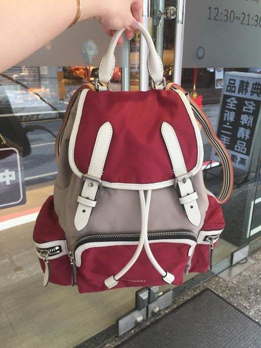 典精品名店 Burberry 真品 Casual Style 2WAY Backpacks 後背包 現貨