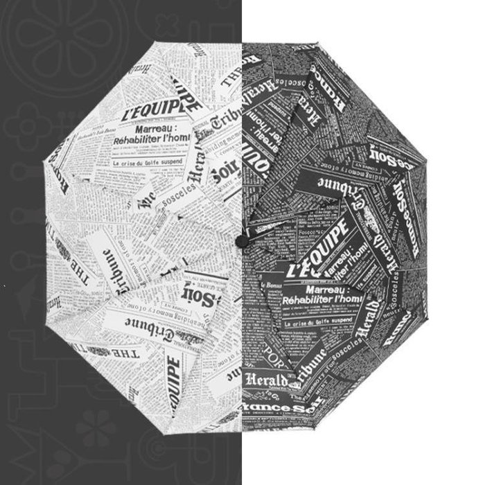 ✿歐拉部落✿全自動雨傘男女個性折疊大號加固雙人防風創意百搭學生晴雨兩用傘LDB68
